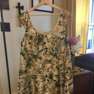 Mod Abstract Floral Dress 18